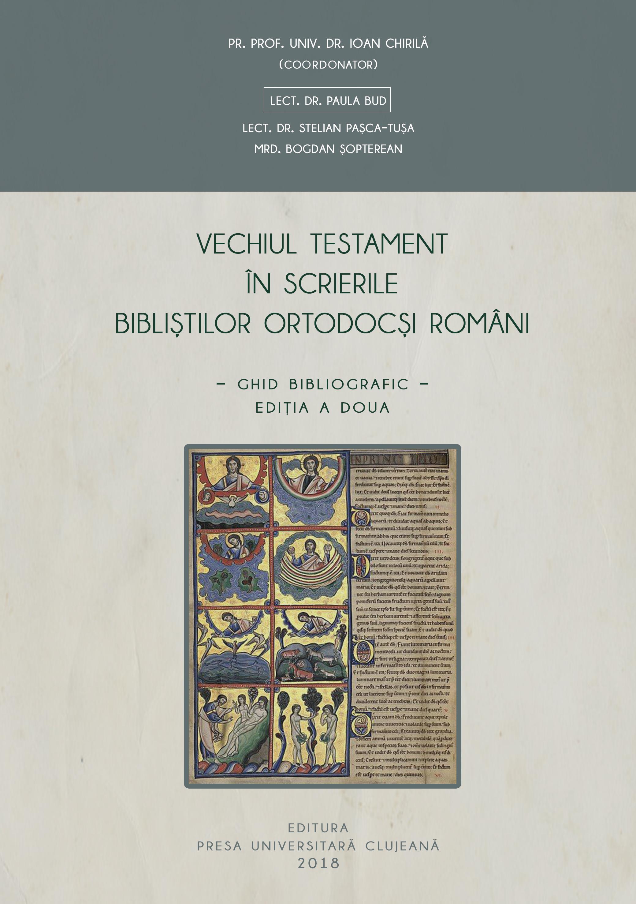 Vechiul Testament – ghid bibliografic